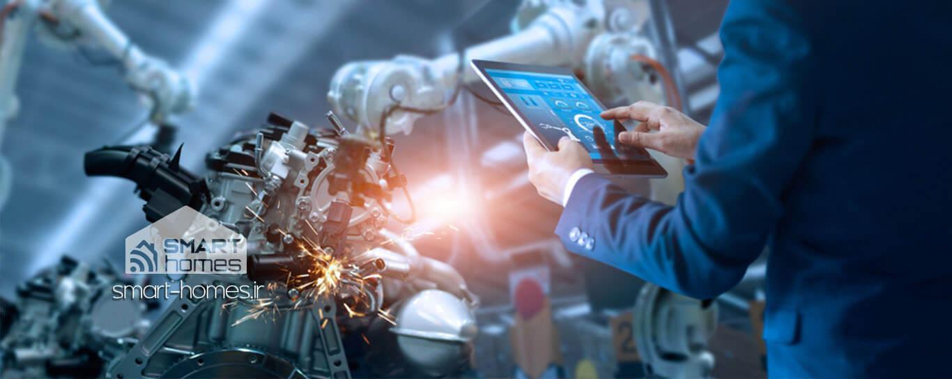اینترنت اشیا و ربات های صنعتی