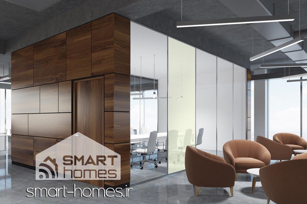 شیشه هوشمند یا شیشه مات شونده چیست؟ خانه های هوشمند