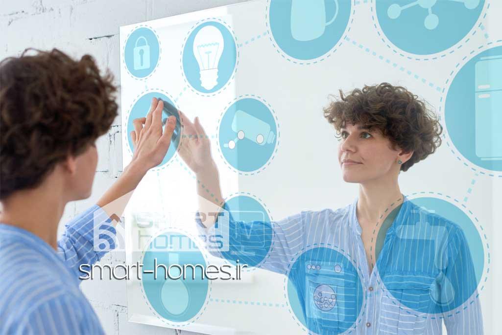 کاربردهای آینه هوشمند