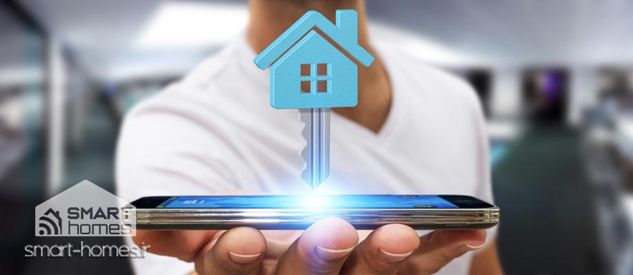 کنترل لوزام خانگی با موبایل